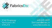 Ad: Fabrics Etc