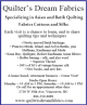 Ad: Quilter's Dream Fabrics