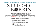 Ad: Stitch and Bobbin