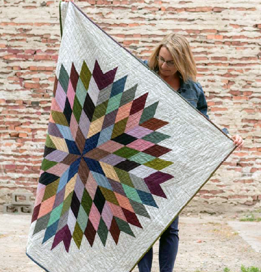 Lonestar Circle by Krista Hennebury, as photographed for her book, Make It, Take It