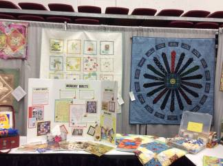 Lions Gate Quilt Show Education Booth 2018 - 1