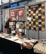Lions Gate Quilt Show Education Booth 2018 - 2