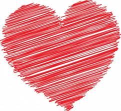 CQ heart - lge